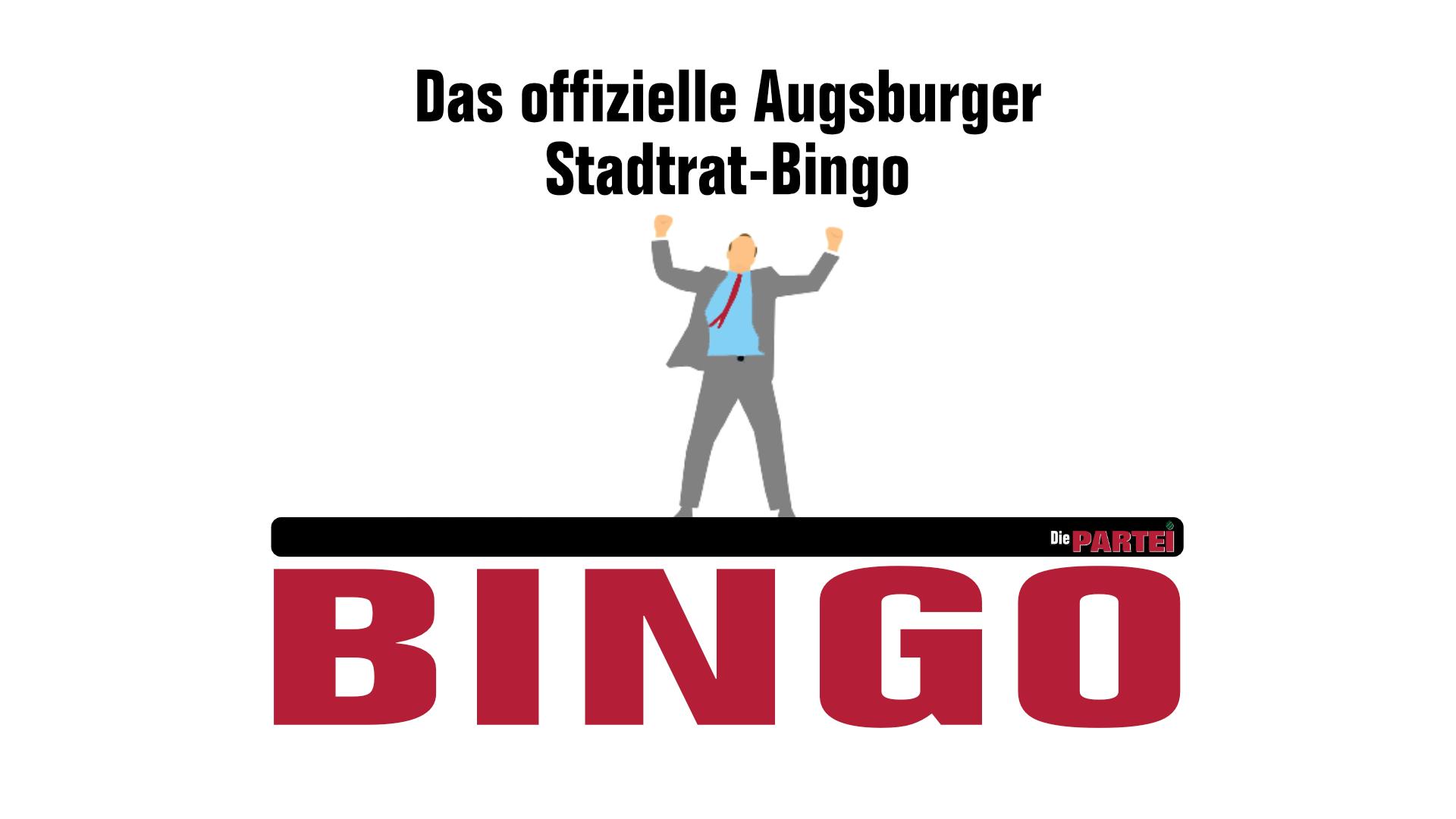 Das offizielle Bingo zur Sitzung am 23. April 2021